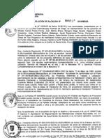 RESOLUCION DE ALCALDIA 091-2010/MDSA