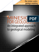MineSight for Geological Modeling