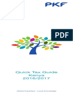 PKF Kenya Quick Tax Guide 2016