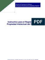 Instructivo Registro de Propiedad Intelectual Software