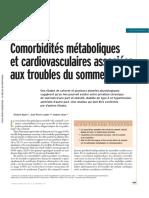 6 M-comorbidités Metabolique Et Cardio-Vasculaire Liés Au Troubles Du Sommeil