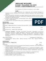Jobswire.com Resume of caroline_mcgr