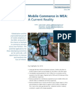 Mobile Commerce in MEA - January 2009