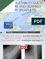 Forearm instability