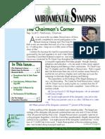 May 2010 Environmental Synopsis