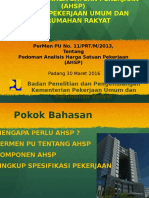 Ahsp Umum Edisi 2016