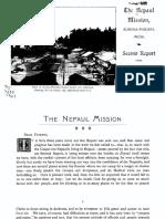 Nepal Mission 1899-1901