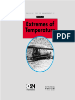 Management Work at Extreme Temperature