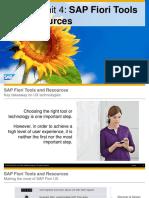 OpenSAP Fiux2 Week 01 Unit 04 ToolsRessources Presentation