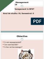 management BFKT III 2016 Seminarii