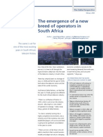 The Emergence of a New Breed of Operators in South Africa - February 2009