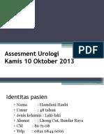 Assess Uro 101013