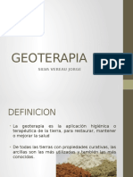 Geoterapia-Medicina Tradicional
