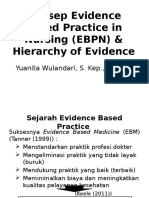 Konsep Evidence Based Practice in Nursing (EBPN) & 7 Steps