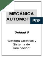 Mecánica Automotriz - Unidad 5