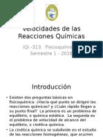 Velocidades de las Reacciones Químicas (1)
