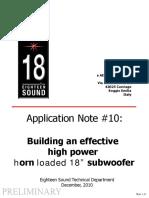 18Sound Kit18 Horn