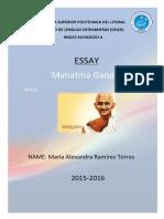 Manhatma Gandi