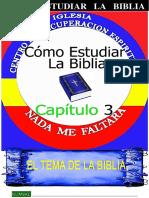 El Tema de La Biblia-Del Alumno-¿Cómo Estudiar la Biblia?