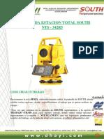 Guia Rapida Estacion Total South NTS-342R5