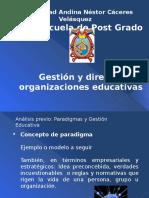 Gestión y Dirección de Org. Educativas