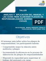 Presentaciones Talleres Manual Guias