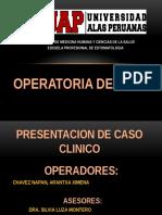 Caso Clinico Operatoris ARA