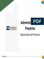 Tema 10 - Adquisiciones Del Proyecto