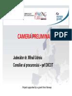 Camera Preliminara - Jud. Dr. Mihail Udroiu