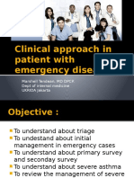 Clinical Approah in Patient With Emergency Diseases