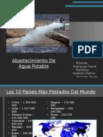Abastecimeinto de Agua Potable 2.0