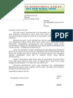 Contoh Surat Permohonan Zakat Fitrah