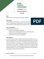 Generator Fundamentals Transcript