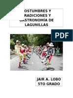 Costumbres y Tradiciones y Gastronomía de Lagunillas