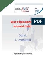 Munca in Folosul Comunitatii de La Teorie La Practica - Procuror Alexandra Sinc