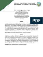 Estimacion Peso Especifico, Humedad, Contenido Energetico y Composicion Quimica TDS