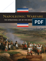 Napoleonic Warfare, The Operational Art of the Great Campaigns - John T Kuehn