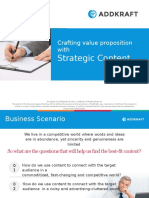 Crafting Value Proposition with Strategic Content