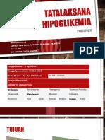 Portofolio Tatalaksana Hipoglikemia Gracia