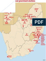 Hot spots ahead of local elections