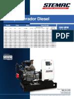 Lamina Comercial - Diesel 60Hz-Pt - MWM