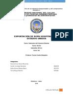 Monografia de Exportacion de Ropa Hospitalaria