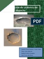 Modelización de Crateres de Impacto