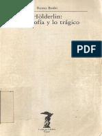 Bodei, Remo - Holderlin, La Filosofia y Lo Tragico
