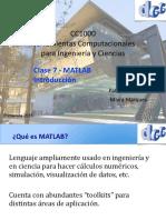 Clase 6 Matlab Introduccion