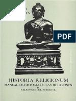 Historia Religionum 2 - Bleeker - Widengren