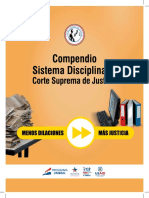 Compendio Sistema Disciplinario