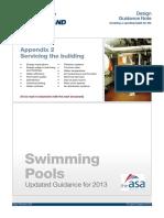 Swimming Pools 2013 Appendix 2 Servicing the Building