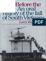 Tears Before the Rain an Oral History of the Fall of South Vietnam