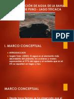 Contaminación de Agua de La Bahia Interior De
